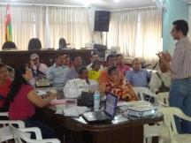 Encuentro con el sector maderero en el Concejo municipal de San Vicente de Chucurí